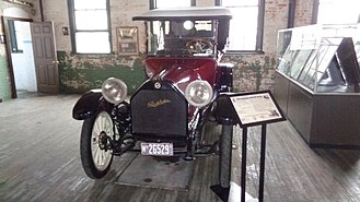 Ford Piquette Avenue Plant - Studebaker assembled cars, like this one, in the Piquette Avenue Plant when it owned the building.