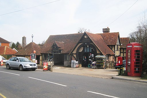 Forge Stores, The Village Shop - geograph.org.uk - 1803228
