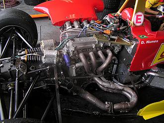 Formula 3 Sudamericana - A Berta engine