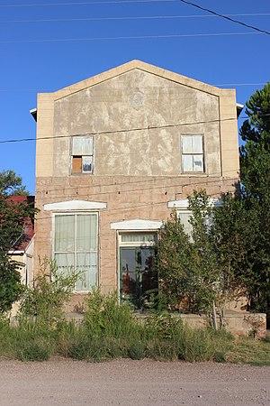 Fort Davis, Texas - Image: Fort Davis Masonic Lodge