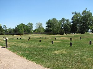 National Register of Historic Places listings in Kearney County, Nebraska - Image: Fort Kearny