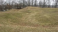 Fort Miamis earthworks