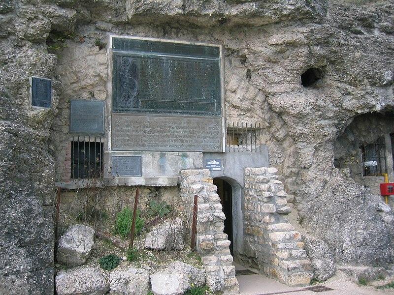 Fort de Douaumont - L'entrée actuelle des galeries du fort