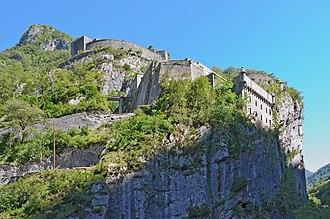 Fort du Portalet - Image: Fort du Portalet
