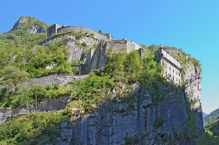 The Fort du Portalet in the Pyrenees Fort du Portalet.jpg