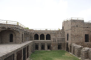 Hisar (city) - Fort built by Firoz Shah Tughlaq at Hisar in 1354 AD