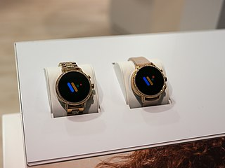 Wear OS version of Googles Android operating system for wearable devices