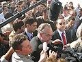 Frédéric Mitterrand à la fête de l'Humanité 2009.jpg