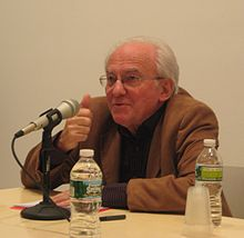 François Laruelle, April 6, 2011, Miguel Abreu Gallery, New York City.JPG