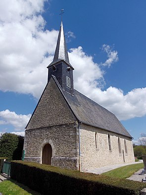 FranceNormandieLeChalangeEglise.jpg