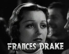 Frances Drake in de trailer