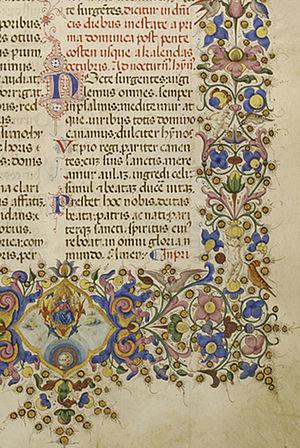 Francesco di Antonio del Chierico - Francesco di Antonio del Chierico - Breviary - Walters W334 - Obverse Detail