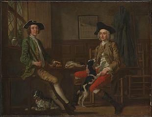 Thomas Nuthall and his Friend Hambleton Custance