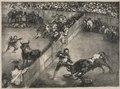Francisco de Goya - The Bulls of Bordeaux- Bullfight in a Divided Ring - 1951.81 - Cleveland Museum of Art.tif