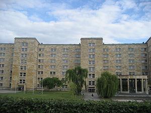 Frobenius Institute - IG Farben Building in Frankfurt, where the Frobenius Institute is located