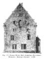 Frankfurt Am Main-Riederhoefe-Grosser Riederhof-Herrenhaus-Aufmass Westseite-Zustand 1900.png