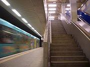 Frankfurt U-Bahn Eschenheimer Tor
