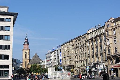 Frankfurt am Main - Roßmarkt Südseite