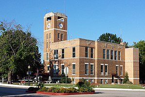 Franklin County Courthouse in Ozark