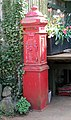 Fransham Forge - cast iron postbox - geograph.org.uk - 1264047.jpg