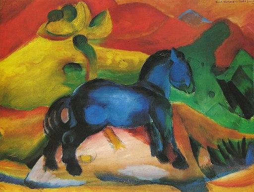 Franz Marc - Il cavallino blu (1912)