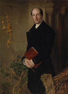 Frederick Sandys - 1858 - The Reverend James Bulwer (National Gallery of Canada, no. 9657) oil on wood, 76 x 55.6 cm.jpg