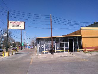 Cuisine of Houston - The original Frenchy's Chicken in the Third Ward, Houston