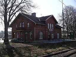 Stationen i Fristad