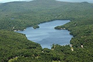 Eastman Pond Lake in Sullivan County, New Hampshire