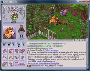 Furcadia - Furcadia screenshot