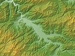 Furukawa-kokufu Basin Relief Map, SRTM-1.jpg