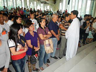 Faith healing - Faith healing by Fernando Suarez, Philippines