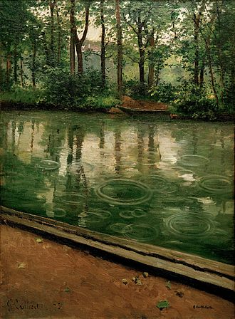 1875 in art - Image: G. Caillebotte L'Yerres, pluie