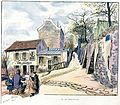 G. Redon (Paris en plein air, BUC, 1897) 13.La rue Saint-Vincent.jpg