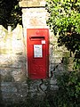 GR postbox near the turning to Langstone - geograph.org.uk - 997342.jpg