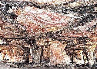 Gabarnmung Archaeological site in Australias Northern Territory Australia