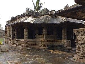 Gadag-Betageri - Saraswati temple at Trikuteshwara temple complex Gadag, Karnataka