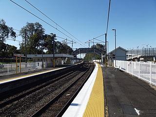 Gailes railway station, Brisbane railway station in Brisbane, Queensland, Australia