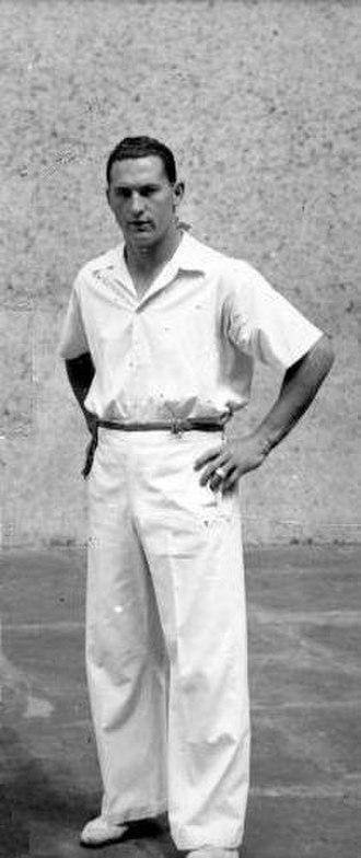 Miguel Gallastegui - Gallastegui in 1942