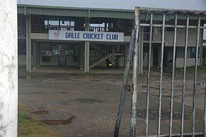 Galle Cricket Club - Image: Galle Cricket Club