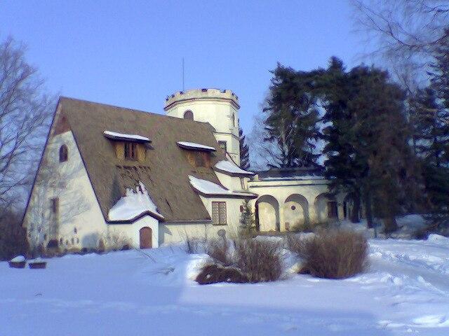 Gallen-Kallela Museum in winter