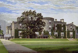 Randolph Stewart, 9th Earl of Galloway - Galloway House c.1800