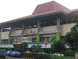Jabodetabek - Gambir railway station