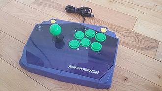 GameCube accessories - The Hori Fighting Stick