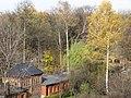 Garden of the Franciscan monastery in Katowice Panewniki 2012 XI e.JPG
