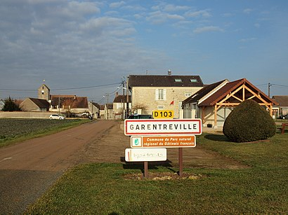 How to get to Garentreville with public transit - About the place