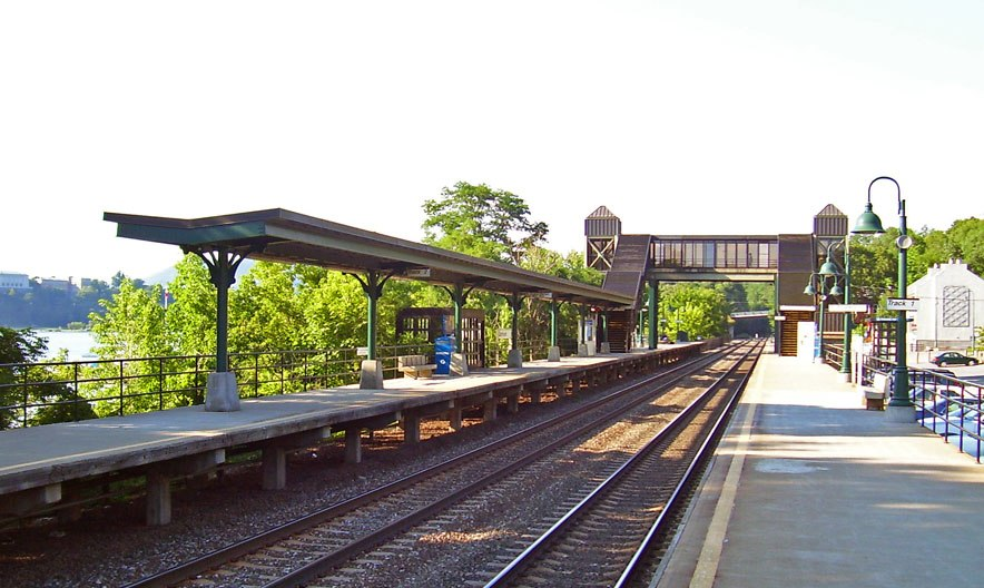 Garrison train station