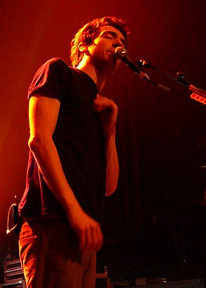 Gary Lightbody - Lightbody performing live at Vega in Copenhagen in 2006