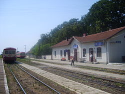 Gătaia train station