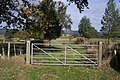 Gate and footpath junction near Price's Farm - geograph.org.uk - 1545586.jpg